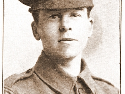 Blaxland Eric Percy : Rifleman 535425 : London Regiment
