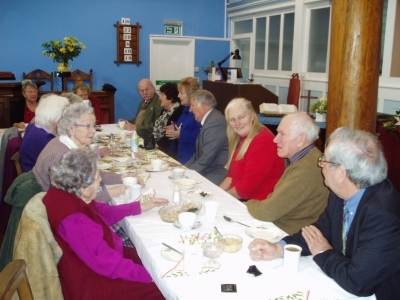 Christmas lunch in aid of Operation Sunshine