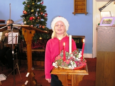 Christmas 2010 reader Lillian Sharp