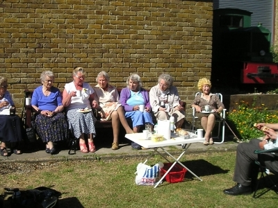 Picnic at Dover Transport Museum..
