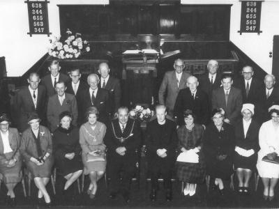 The ordination of Rev Graham Long 1962