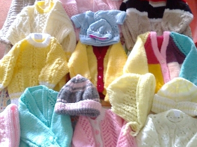 Baby clothes for Zambia